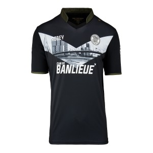 Clan de Banlieue away shirt zwart