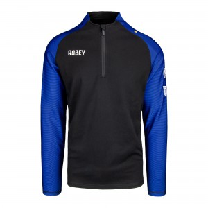 Performance half-zip top